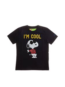 MC2 Saint Barth - T-shirt I'm Cool nera