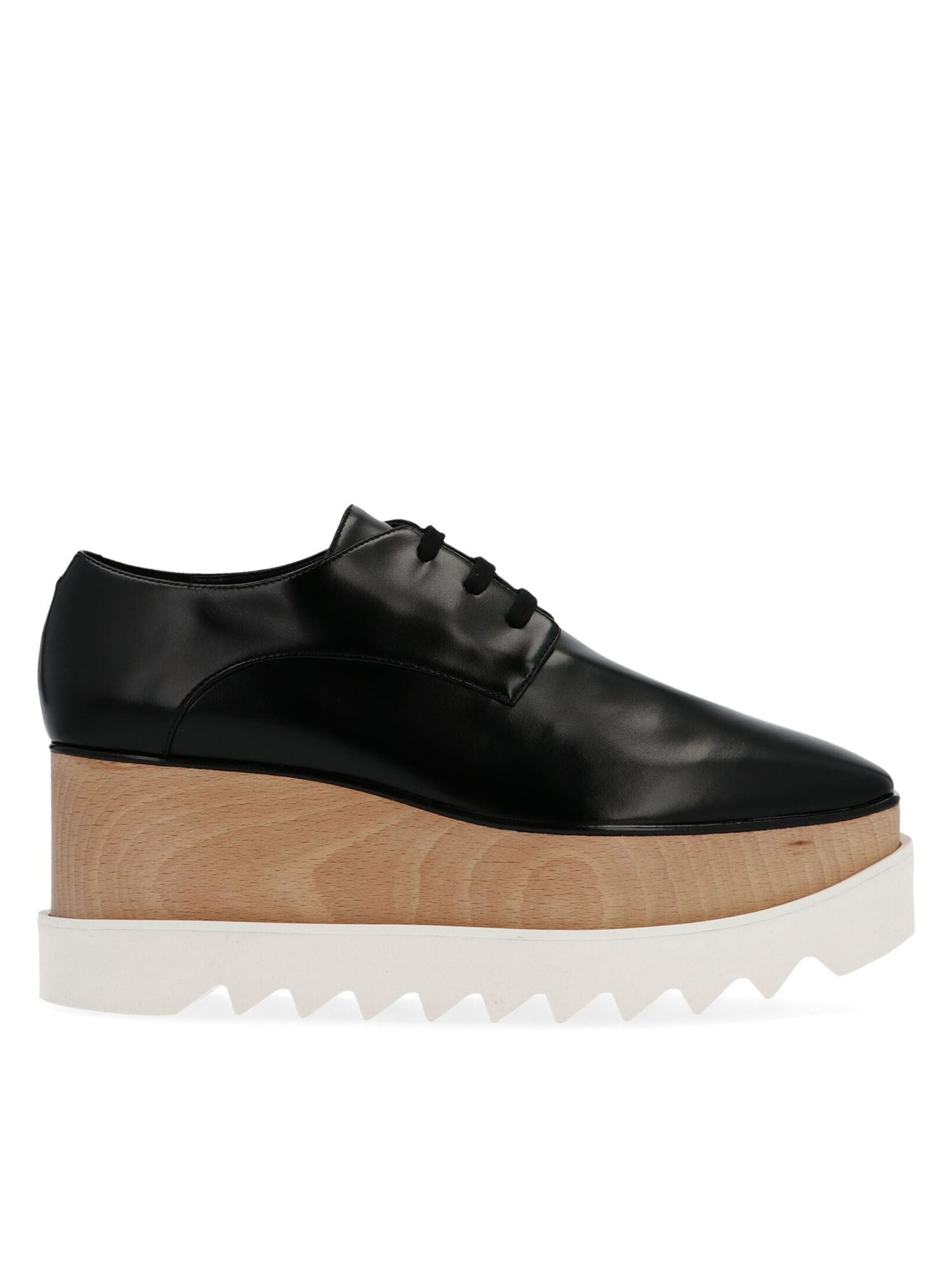 Stella Mccartney STELLA MCCARTNEY ELYSE PLATFORM SHOES IN BLACK