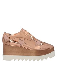 Stella McCartney - Elyse Star shoes in copper color