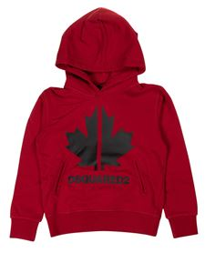 Dsquared2 - Branded hoodie in red