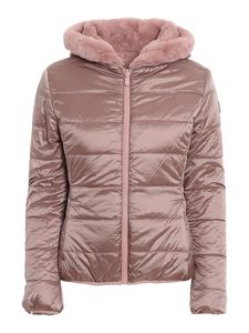 Save the duck - Faux fur reversible padded jacket