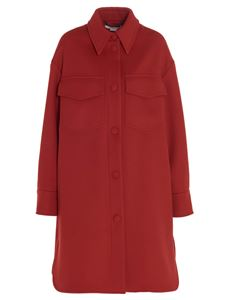 Stella McCartney - Cappotto Kerry color rosso Amore
