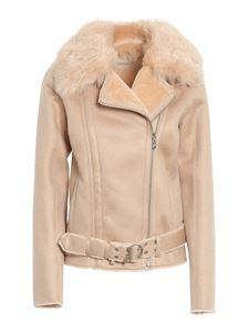Patrizia Pepe - Reversible faux shearling coat