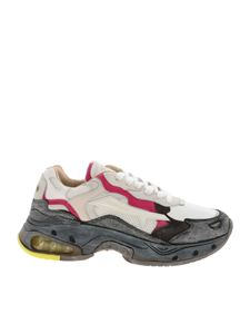 Premiata - Sharkyd sneakers in white and grey