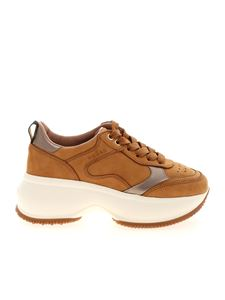 Hogan - Maxi I Active sneakers in camel color