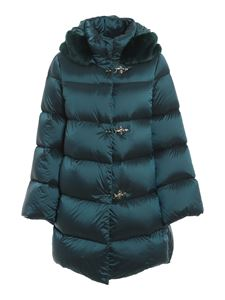 Fay - Padded jacket with frogs