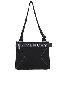 Givenchy - Logo print crossbody bag
