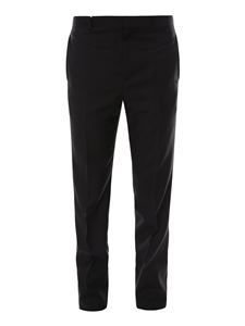 Givenchy - Darts detailed wool pants