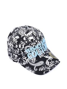 Versace Jeans Couture - Cappellino in fantasia Paisley