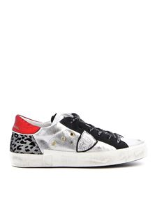 Philippe Model - PRLD L laminated leather sneakers