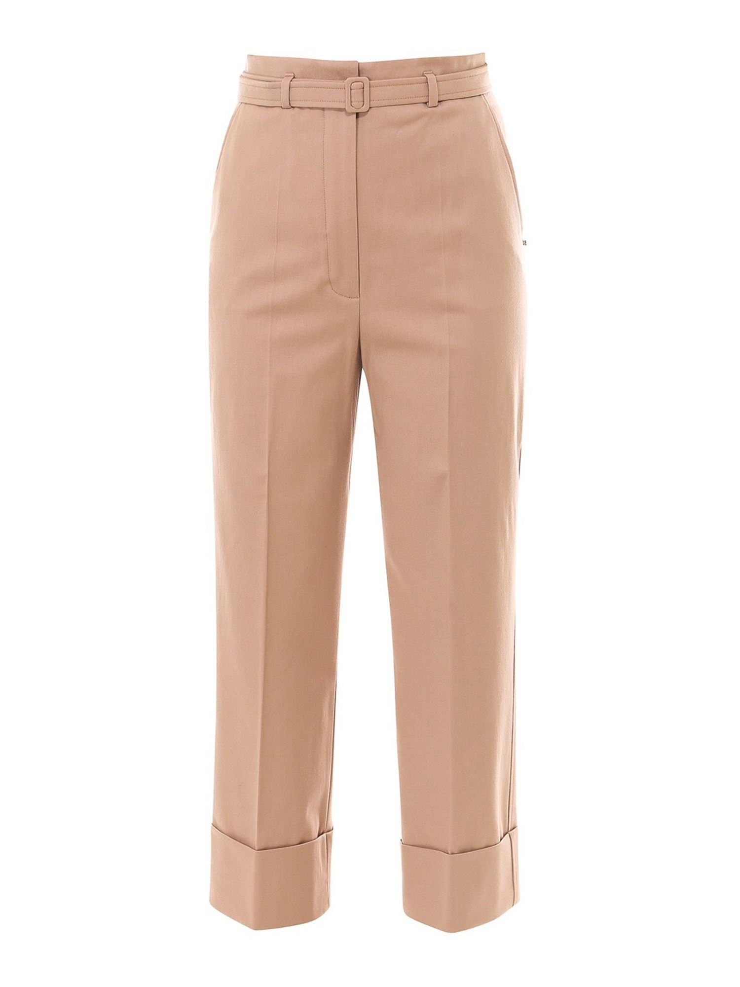 Sportmax HIGH WAISTED BELTED TROUSER
