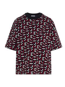 Kenzo - All-over logo top in red