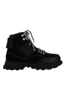 Jil Sander - High-top leather mountain boots