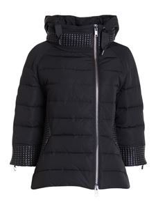 Diego M - Patent detail quilted puffer jacket