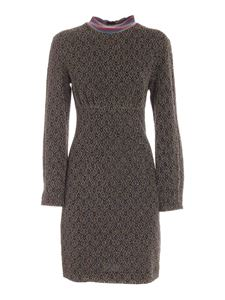 M Missoni - Crewneck dress in black