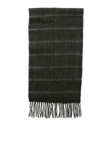 Barbour - Tattersall scarf in green