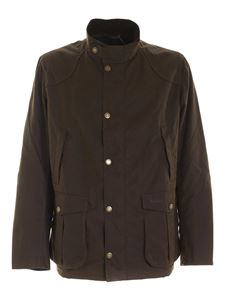 Barbour - Logo embroidery jacket in green
