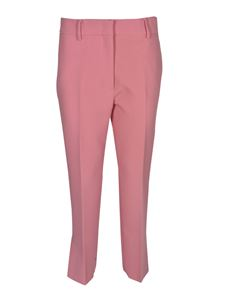 MSGM - Bootcut fit pants in pink