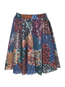 M Missoni - Sequins skirt in multicolor