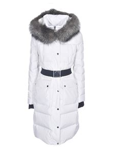 Moose Knuckles - Cuffley down jacket in white