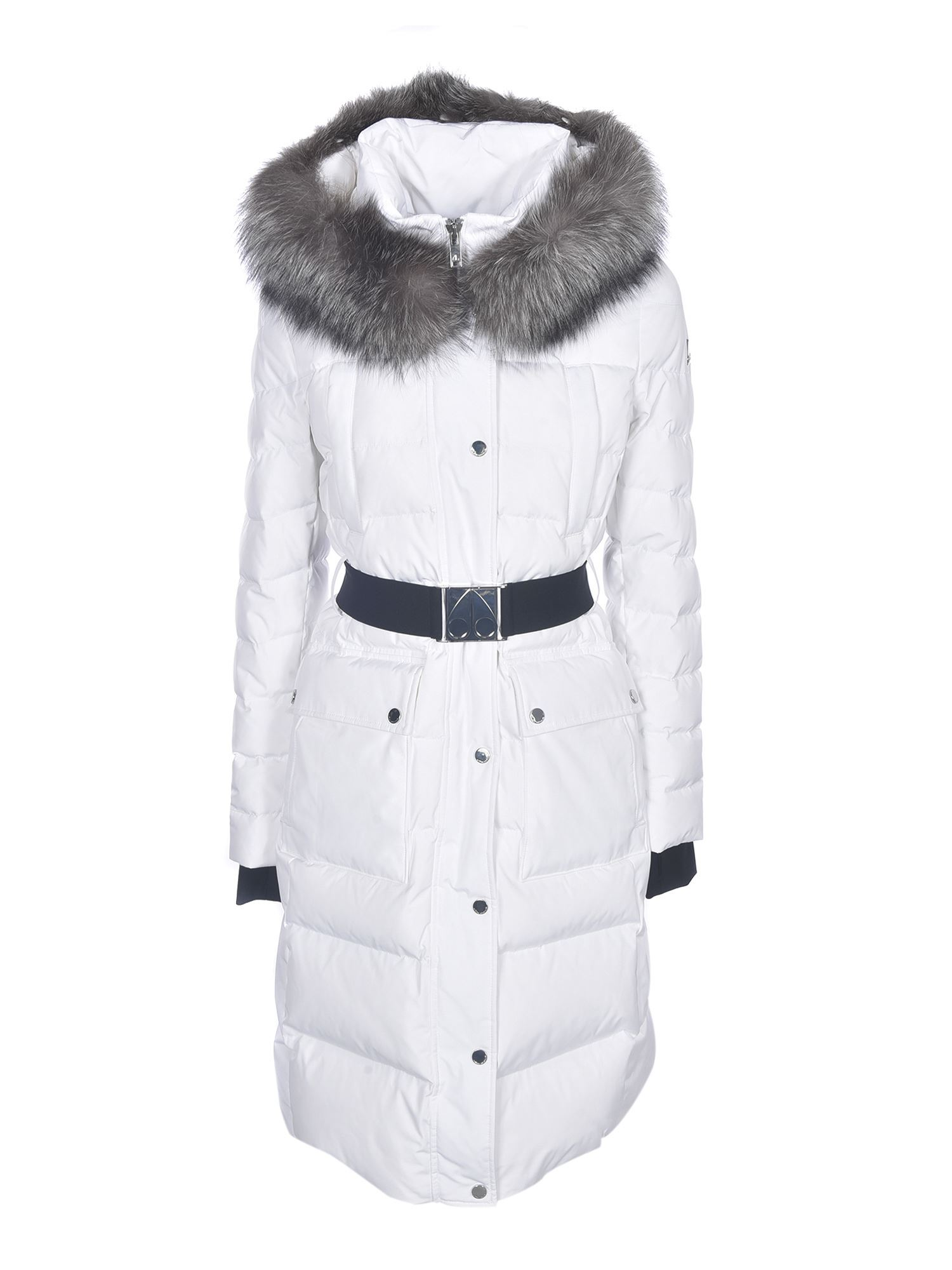 Moose Knuckles CUFFLEY DOWN JACKET IN WHITE