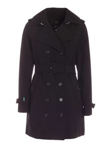 Save the duck - Griny trench coat in black