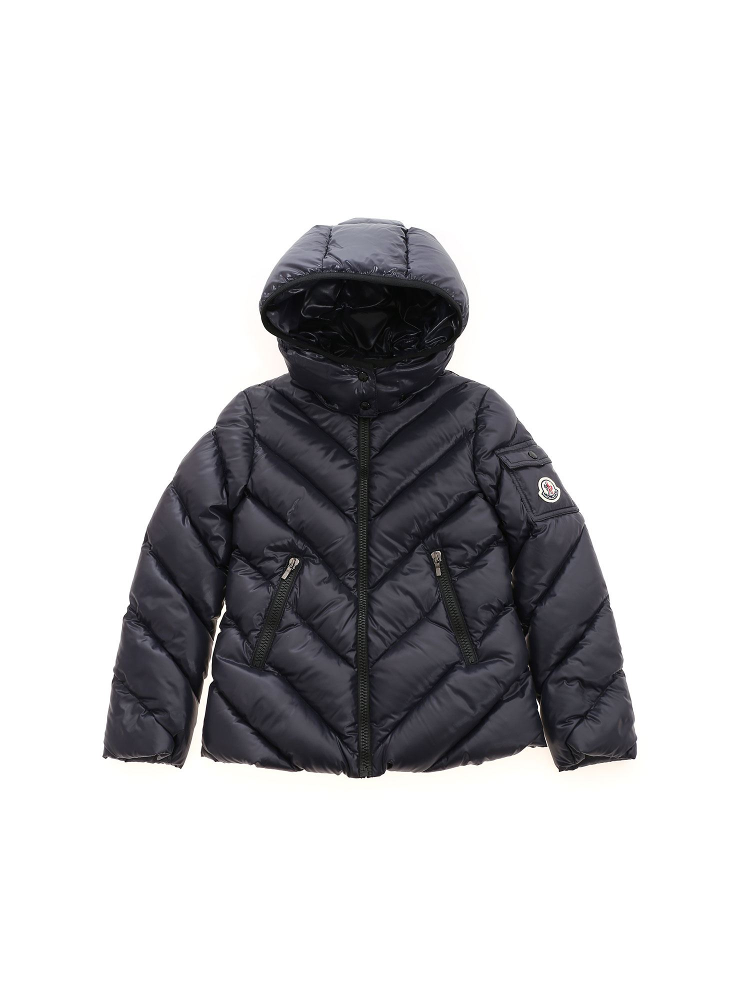 Moncler Jr BROUEL DOWN JACKET IN BLUE