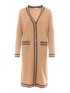 Tory Burch - Lurex trims detailed cardigan