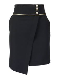 Patrizia Pepe - Wrapped cady skirt