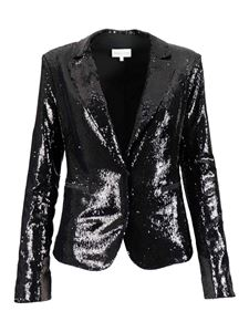 Patrizia Pepe - Single-breasted sequin blazer