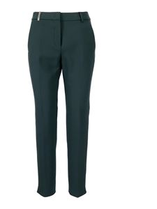 Peserico - Viscose-blend trousers