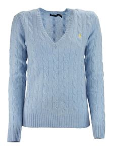 Ralph Lauren - Logo embroidery V-neck sweater