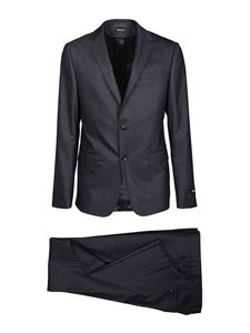 Z Zegna - Stretch wool blend suit