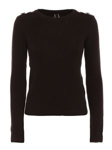 Hogan - Button detailed virgin wool jumper