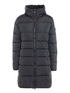 Save the duck - Nylon hooded padded coat