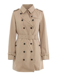 Save the duck - Double-breasted trench with padded gilet