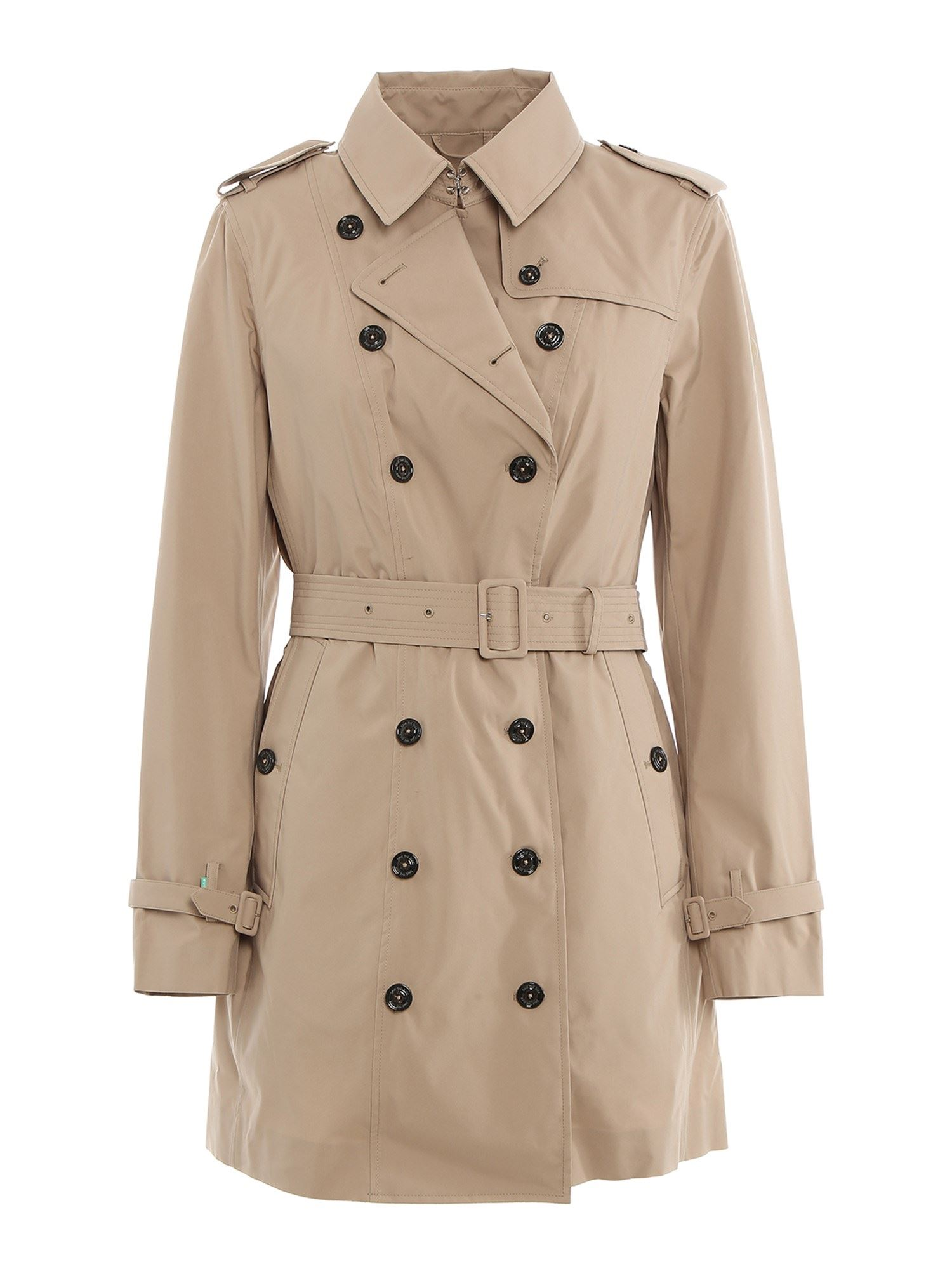 Save The Duck DOUBLE-BREASTED TRENCH WITH PADDED GILET