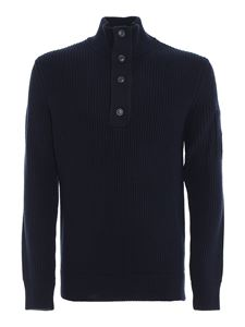 CP Company - Ribbed wool blend turtleneck jumper