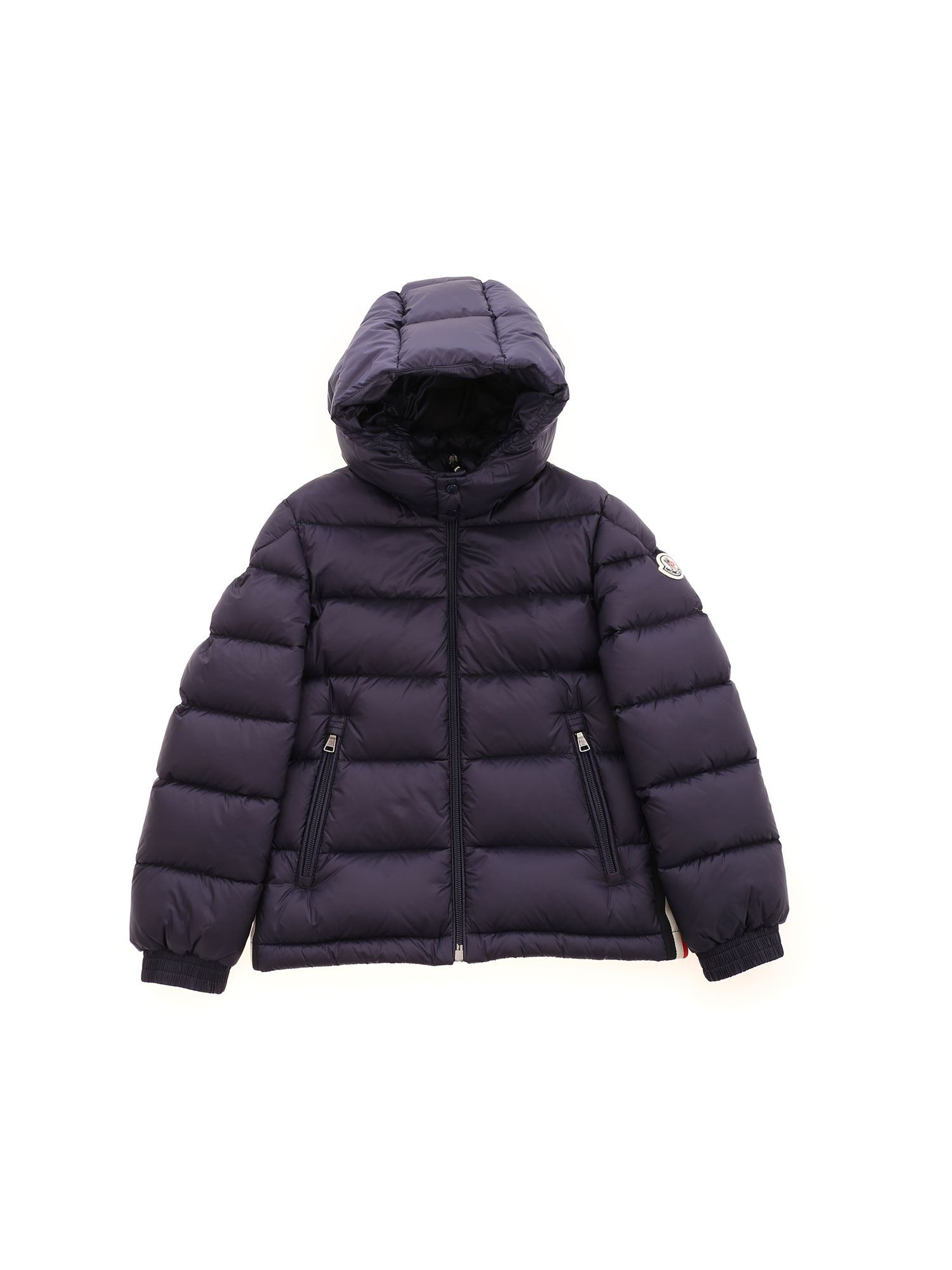 Moncler Jr NEW GASTONET DOWN JACKET IN BLUE