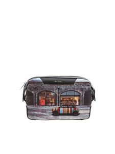Paul Smith - Mini Kings Cross print beauty case in black