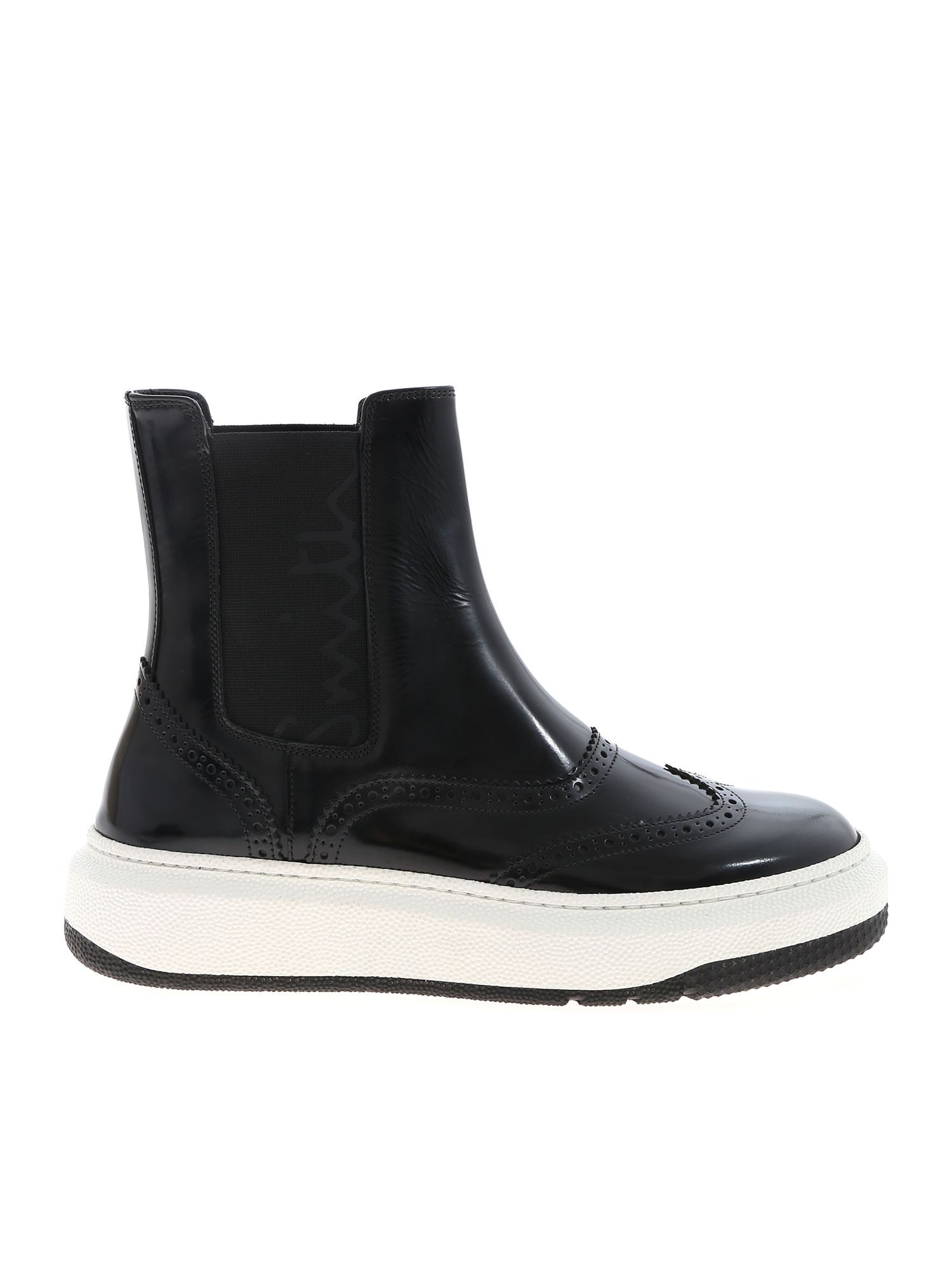 Paul Smith LAMBETH ANKLE BOOTS IN BLACK
