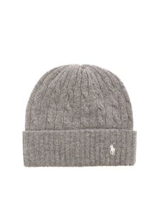 POLO Ralph Lauren - Branded beanie in grey