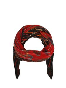Etro - Silk foulard in red and black