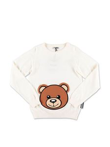 Moschino Kids - White Teddy Bear sweater