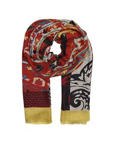 Etro - Cashmere and silk scarf in red