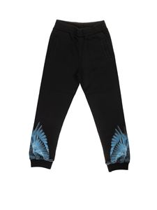Marcelo Burlon Kids - Blue Wings sweatpants