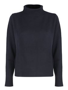 Aspesi - Relaxed fit pullover in blue