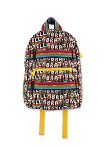 Stella McCartney Kids - Zaino logo muticolor