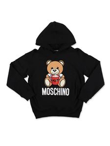 Moschino Kids - Felpa Teddy Bear nera