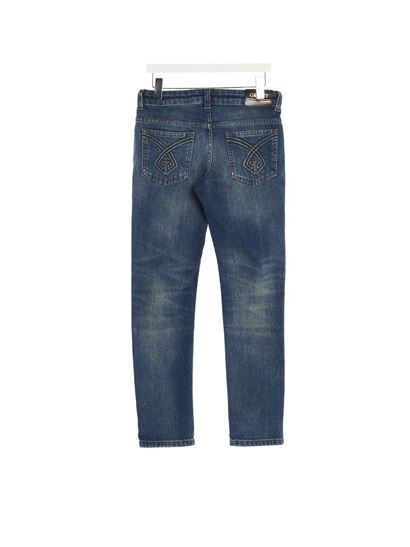 Gucci - Logo jeans in blue